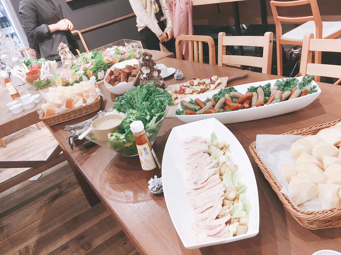 SONOKOカフェこだわりの美と健康を意識したフード